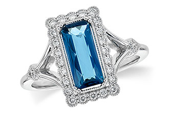 C217-79080: LDS RG 1.58 LONDON BLUE TOPAZ 1.75 TGW