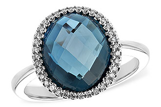 D216-84471: LDS RG 5.31 LONDON BLUE TOPAZ 5.45 TGW