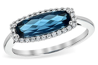 E217-78171: LDS RG 1.79 LONDON BLUE TOPAZ 1.90 TGW