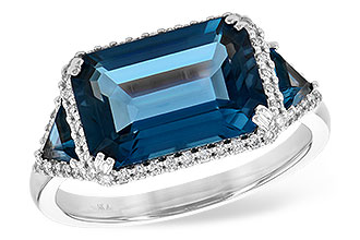 G217-75407: LDS RG 4.60 TW LONDON BLUE TOPAZ 4.82 TGW